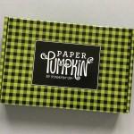 Paper Pumpkin Subscription Box Review – October 2017