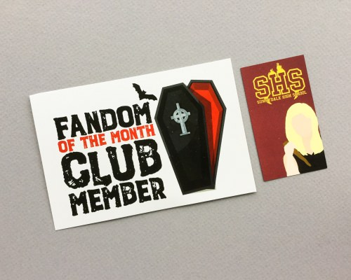 Fandom of the Month Club Review + Coupon Code – October 2017