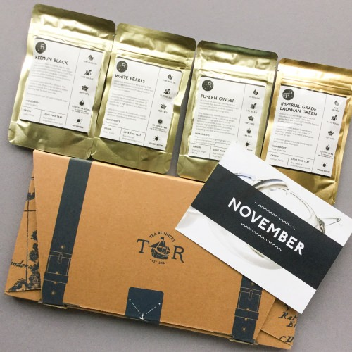 Tea Runners Subscription Box Review – November 2017