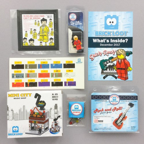 Brick Loot Subscription Box Review + Coupon Code – December 2017