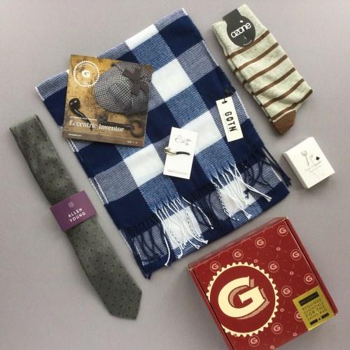 Gentleman's Box Review + Coupon Code – December 2017