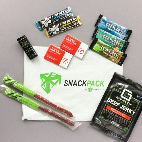 SnackPack Subscription Box Review + Promo Code – November 2017