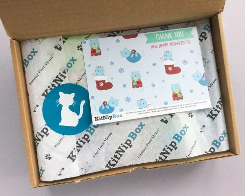 KitNipBox Subscription Box Review + Coupon Code – December 2017