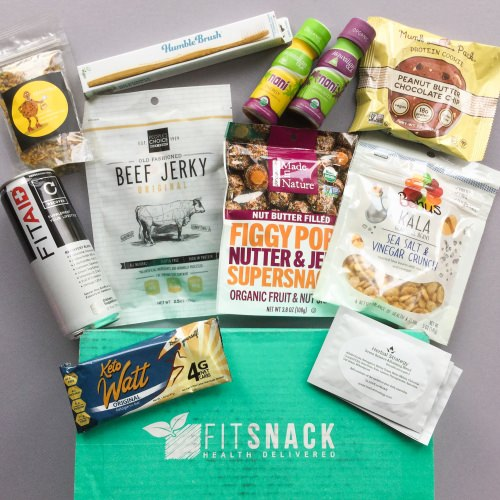 Fit Snack Subscription Box Review + Discount – November 2017