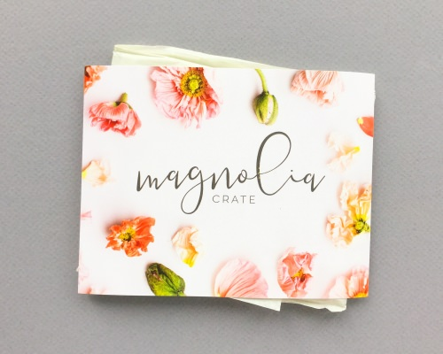 Magnolia Crate Subscription Box Review + Coupon Code – December 2017