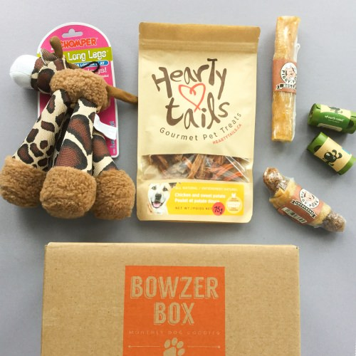 Bowzer Box Review + Discount Code – January 2018