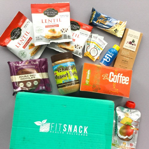Fit Snack Subscription Box Review + Discount – December 2017
