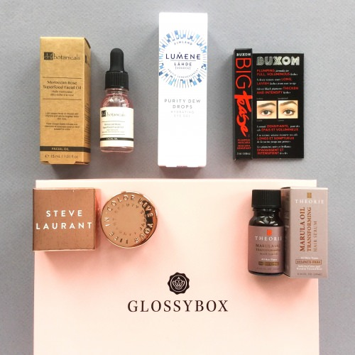 Glossybox Subscription Box Review + Coupon Code – January 2018