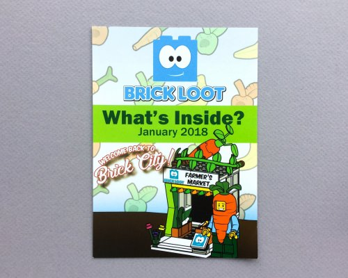 Brick Loot Subscription Box Review + Coupon Code – January 2018