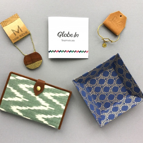 "GlobeIn Artisan Box ""Sophisticate"" Review + Coupon Code – December 2017"