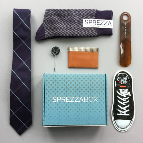 SprezzaBox Subscription Box Review + Coupon Code – December 2017