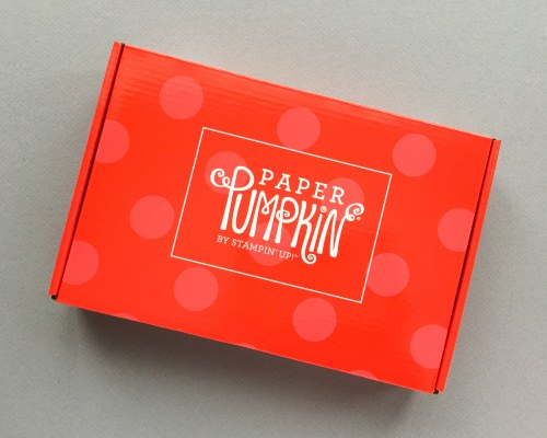 Paper Pumpkin Subscription Box Review – December 2017