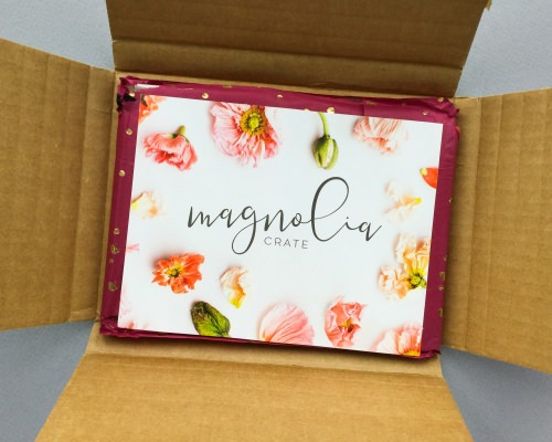 Magnolia Crate Subscription Box Review + Coupon Code – January 2018