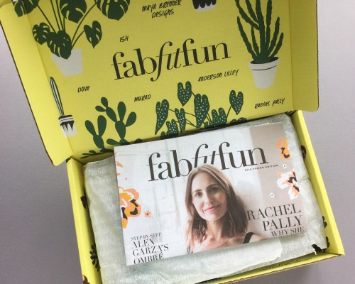 FabFitFun Subscription Box Review + Coupon Code – Spring 2018