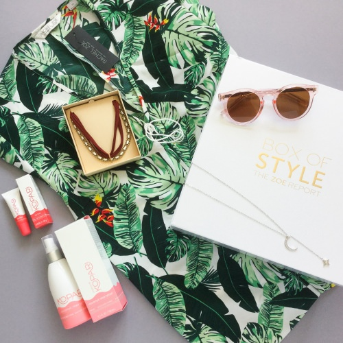 The Zoe Report Box of Style Review + Promo Code – Spring 2017