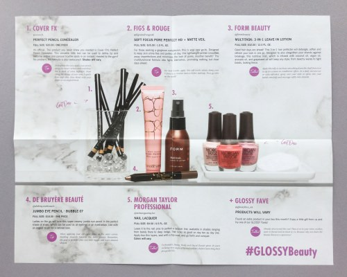 Glossybox Subscription Box Review – March 2018