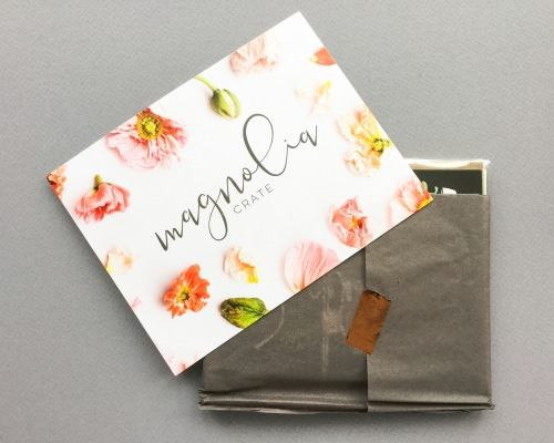 Magnolia Crate Subscription Box Review + Coupon Code – March 2018