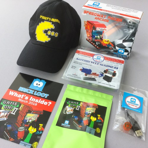 Brick Loot Subscription Box Review + Coupon Code – March 2018