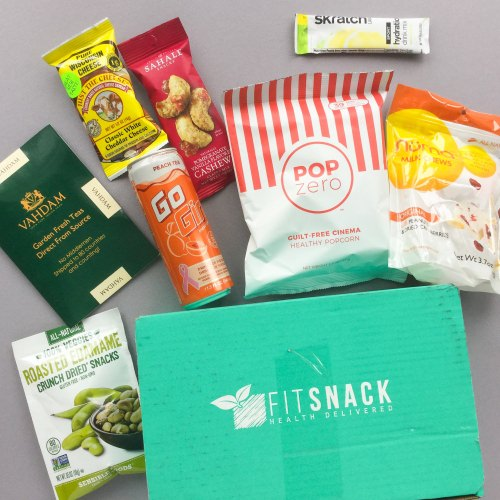 Fit Snack Subscription Box Review + Discount – March 2018
