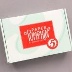 Paper Pumpkin Subscription Box Review + Promo Code – March 2018