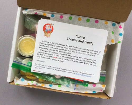 Gramma in a Box Subscription Box Review + Coupon Code – April 2018