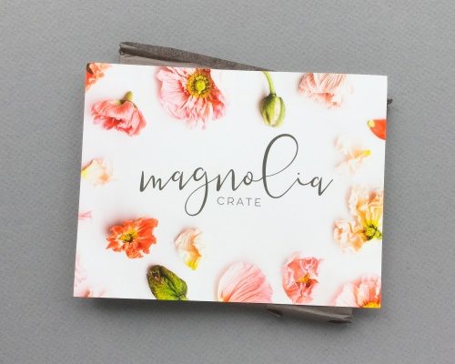 Magnolia Crate Subscription Box Review + Coupon Code – April 2018