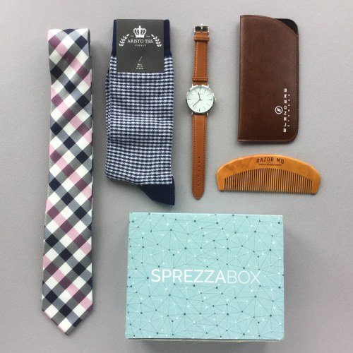 SprezzaBox Subscription Box Review + Coupon Code – May 2018