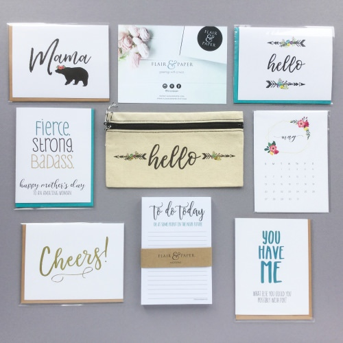 Flair & Paper Subscription Box + Coupon Code – May 2018