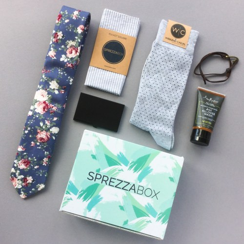 SprezzaBox Subscription Box Review + Coupon Code – April 2018