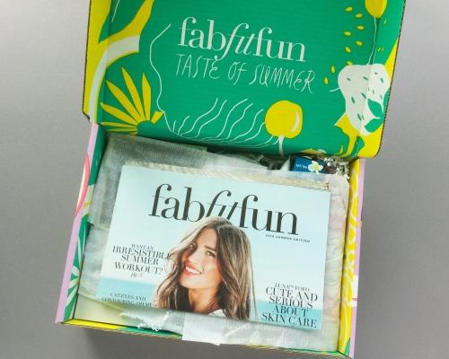 FabFitFun Subscription Box Review + Coupon Code – Summer 2018