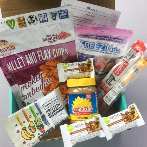 Fit Snack Subscription Box Review + Discount – May 2018