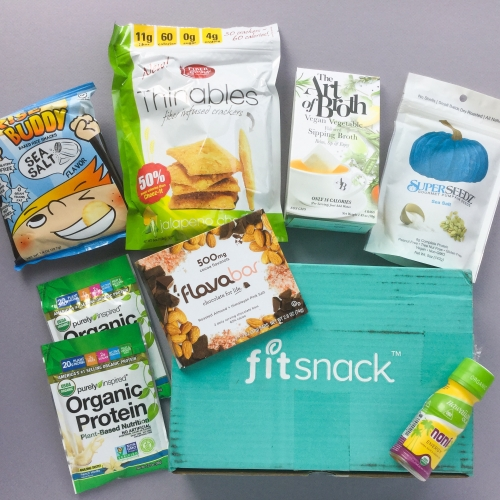 Fit Snack Subscription Box Review + Discount – June 2018