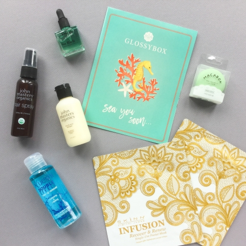 Glossybox Subscription Box Review – July 2018