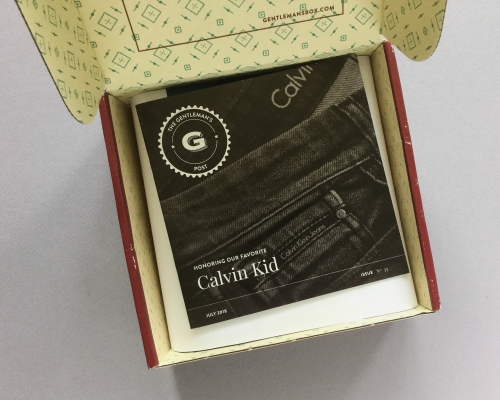 Gentleman's Box Review + Coupon Code – July 2018