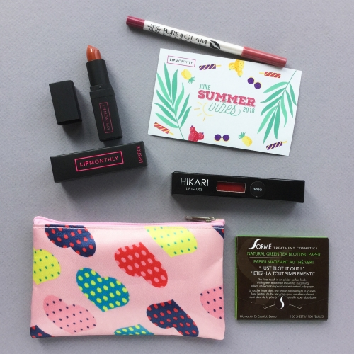 Lip Monthly Review + Coupon Code – June 2018