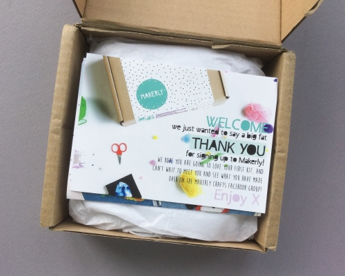 Makerly Subscription Box Review + Coupon Code – July 2018