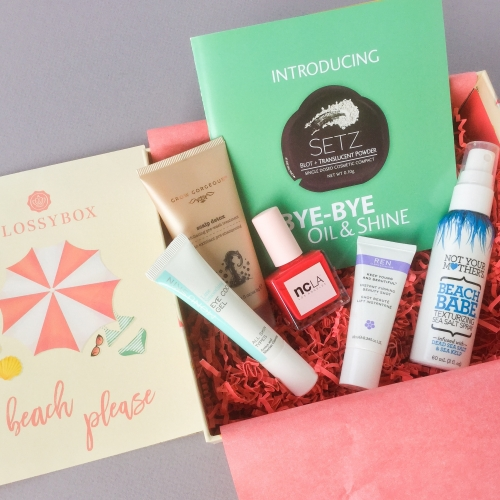 Glossybox Subscription Box Review – August 2018