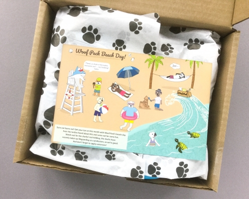 Woof Pack Subscription Box Review + Coupon Code – August 2018