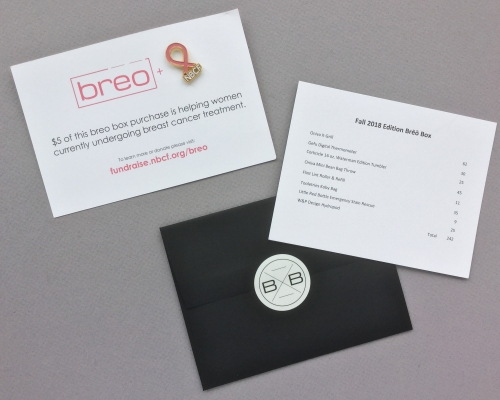 brēō box Subscription Box Review + Coupon Code – Fall 2018