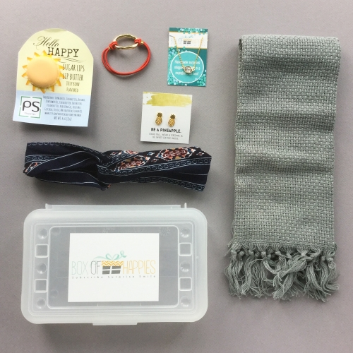 Box of Happies Subscription Box Review + Coupon Code – August 2018