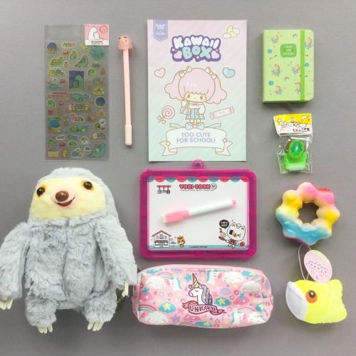 Kawaii Box Subscription Box Review – August 2018