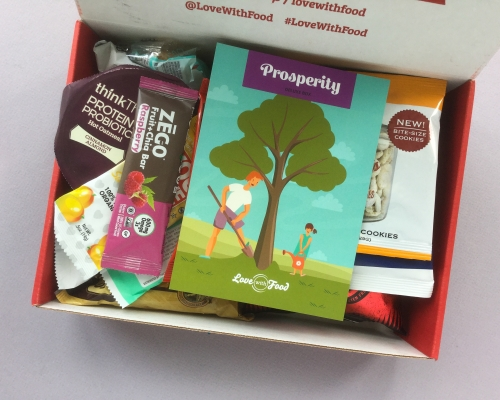 Love With Food Subscription Box Review + Promo Code – September 2018