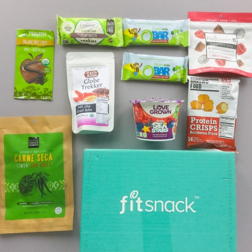 Fit Snack Subscription Box Review + Discount – September 2018