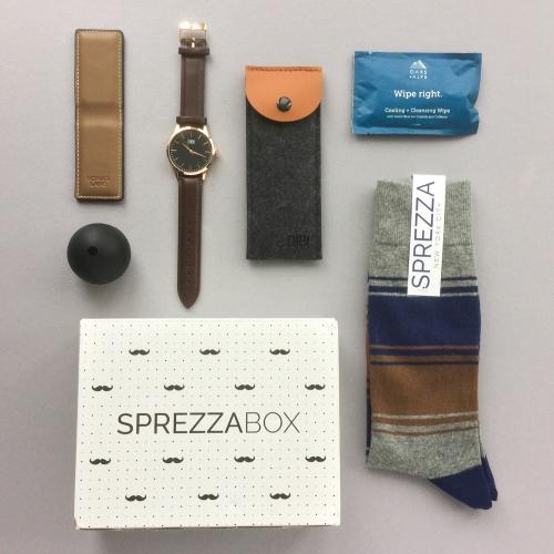 SprezzaBox Subscription Box Review + Coupon Code – November 2018