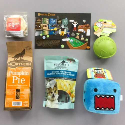 Woof Pack Subscription Box Review + Coupon Code – October 2018