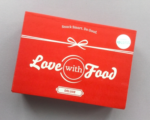 Love With Food Subscription Box Review + Promo Code – November 2018