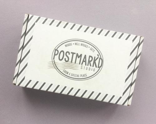 Postmark'd Studio Subscription Box Review + Coupon Code – November 2018