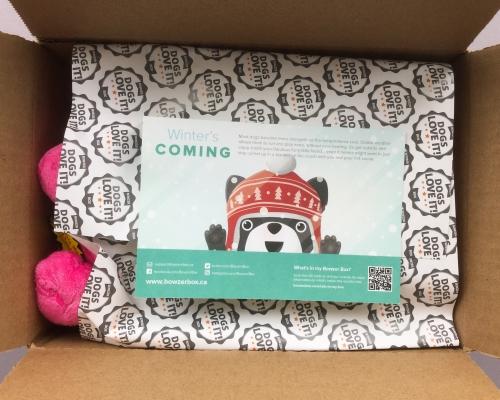 Bowzer Box Review + Discount Code – November 2018