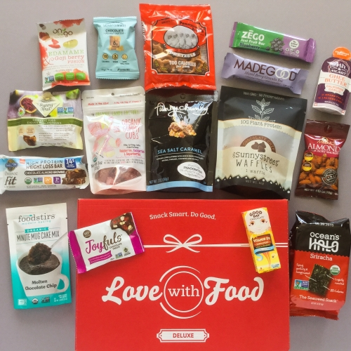 Love With Food Subscription Box Review + Promo Code – December 2018