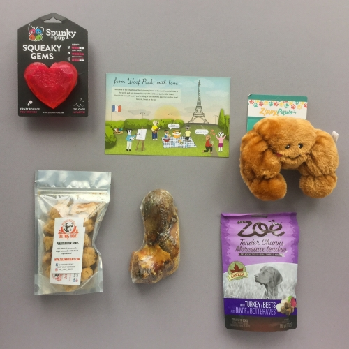 Woof Pack Subscription Box Review + Coupon Code – November 2018